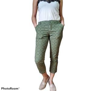 Patagonia Green Patterned Crop Pants